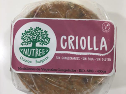 Nutree Criolla Medallones veganos