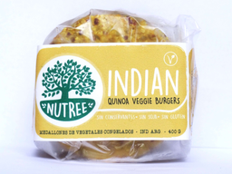 Nutree Indian Medallones veganos