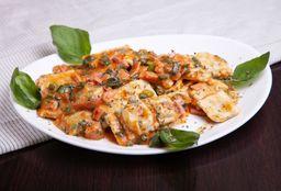 3x2 Ravioles de Pollo y Verdura + 1/2 Kilo de Helado