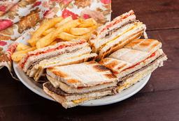 Sándwich Chacarero de Lomo