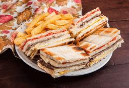 Sándwich Chacarero de Ternera