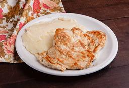 Bife de Pollo Completo