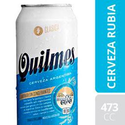 Cerveza Quilmes Clásica 473Ml