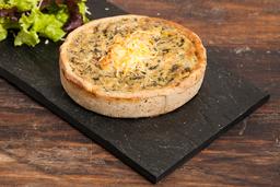 Tarta Casera de Pollo y Brócoli
