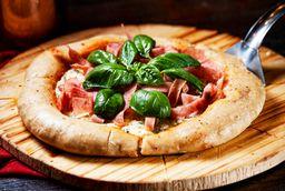 Pizza Margharita con Jamon