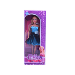 Duende Azul Juguete Paloma Muñeca Vestido de Evento 6096