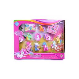 Duende Azul Muñeco Ponys Para Decorar Con Stickers