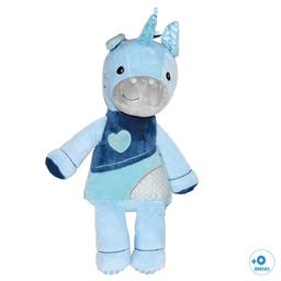 Duende Azul Peluche Tierno Unicornio Azul