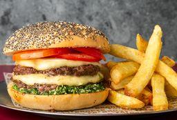 Hamburguesa Halloumi Pesto