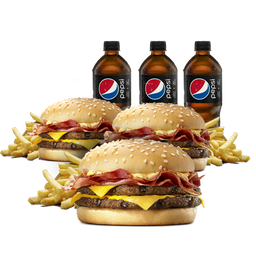 3 Combos Stacker Doble