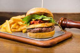 Hamburguesa Provoburger + Papas Fritas