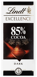 LINDT EXCELLENCE 85% COCOA X 100 G