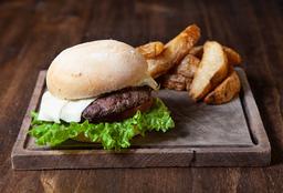 Classic Burger + Papas Rústicas