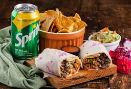 Combo 1 Burrito y Entrada