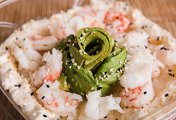Ensalada de Sushi con Langostinos