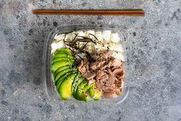 Ensalada de Sushi con Atún