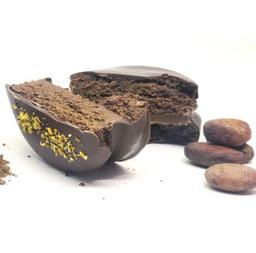 Alfajor de Harina Cacao +Dulce de Leche y Cardamomo (Clásico)
