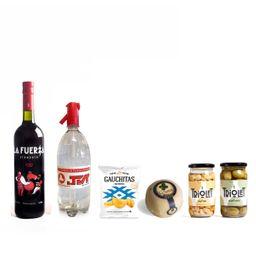 La Fuerza Vino Vermouth + Naranja Limón o Pomelo + JVT Soda