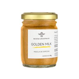 Recetas Ancestrales Mezcla de Especias Golden Milk