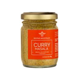 Recetas Ancestrales Mezcla de Especias Curry Masala