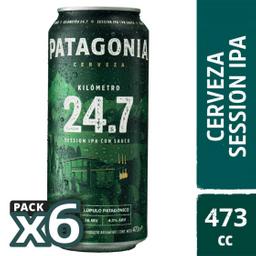Cerveza Patagonia  Six Pack 473 Cc Carton