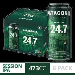 Cerveza Patagonia 24.7 473Ml X6