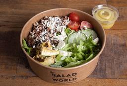 Ensalada Quinoa Griega