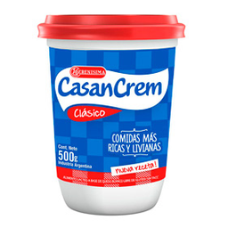 Queso Crema Untable Casancrem 500 Gr
