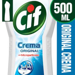 Limpiador Cif Crema Botella 750 Gr