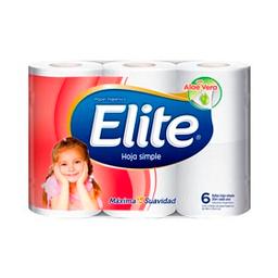 Papel Higiénico Elite Hoja Simple 30 M