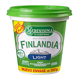 Queso Untable Finlandia Light  Dietético 300 g