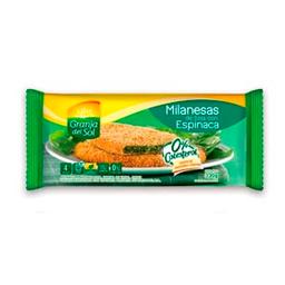 Milanesas De Soja Granja Del Sol Espinaca 4 U