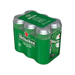 Cerveza Heineken Premiun 473 mL X 6