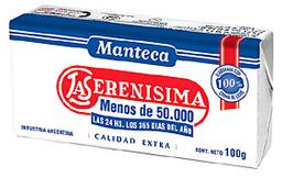Manteca La Serenísima Calidad Extra 100 g