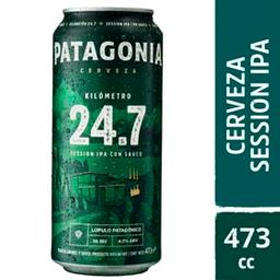Cerveza Patagonia 24.7 Lata 473 mL