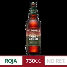 Cerveza Amber Lager Patagonia Botella 740ml