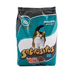 Alimento Para Gatos Sabrositos Pescado 500 Gr