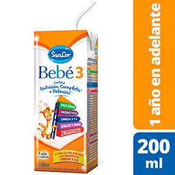 Leche Entera Bebé 3  Nutrición Completa 200 mL
