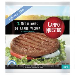 Medallón De Carne Campo Nuestro 110 Gr