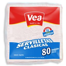 Servilletas Blancas Vea-Paq-Un.-80