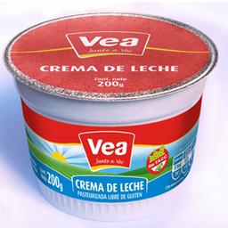 Crema De Leche Vea X 200Gr