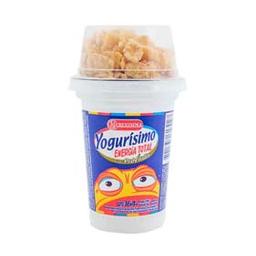 Yogur Entero Yogurísimo Mix   Cereales Crujientes 164 g