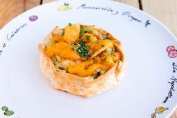 Canastitas de Pollo y Verdura
