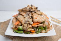 Wok de Vegetales con Carne