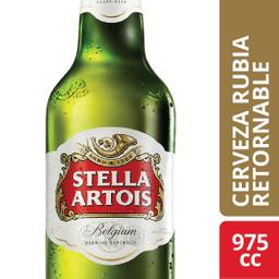 Cerveza Stella Artois Retornable 975 mL