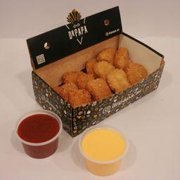 Caja Individual - Nuggets con Salsas