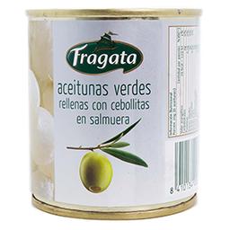 Aceituna Fragata Rellenas Con Cebollitas en Salmuera