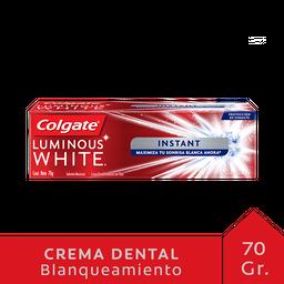 Colgate Crema Dental Luminous White Instant