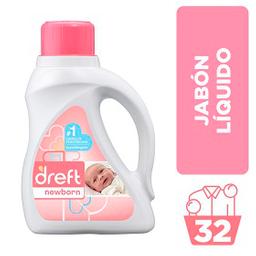 Detergente Dreft Para Recien Nacidos Primera Etapa 1.47 L