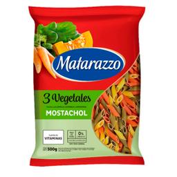 Fideos Mostachol Matarazzo 3 Vegetales 500 Gr